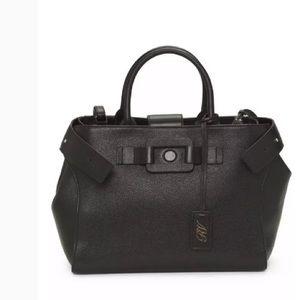 Roger Vivier Bags - Roger vivier black leather pilgrim de jour bag 2b89397327a1e